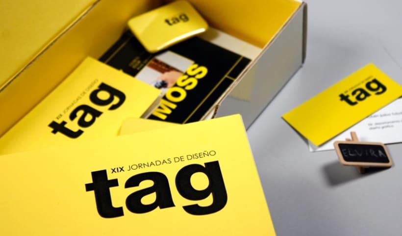 Identidad visual corporativa, TAG 3