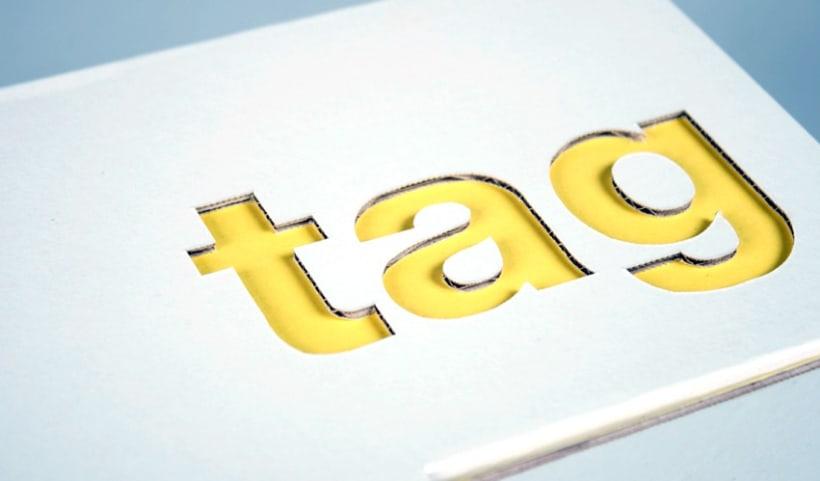 Identidad visual corporativa, TAG 2