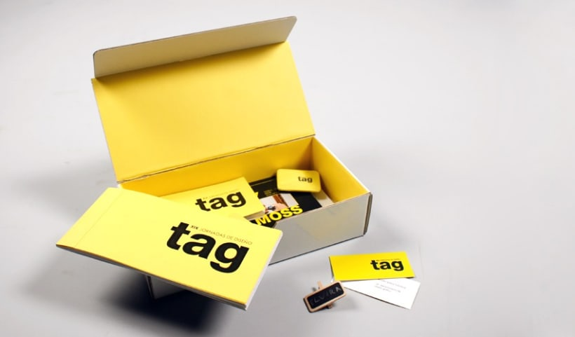 Identidad visual corporativa, TAG 4