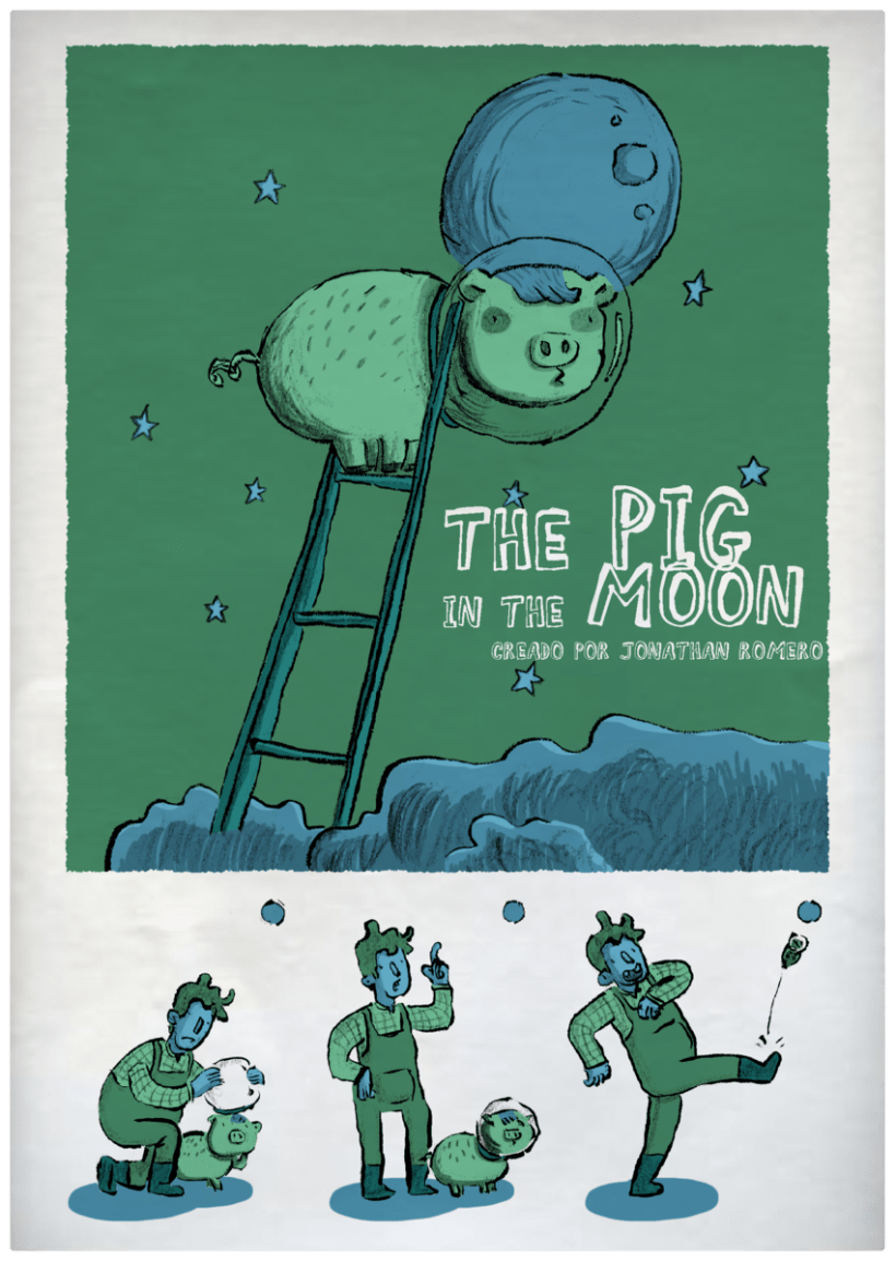 THE PIG ON THE MOON 1