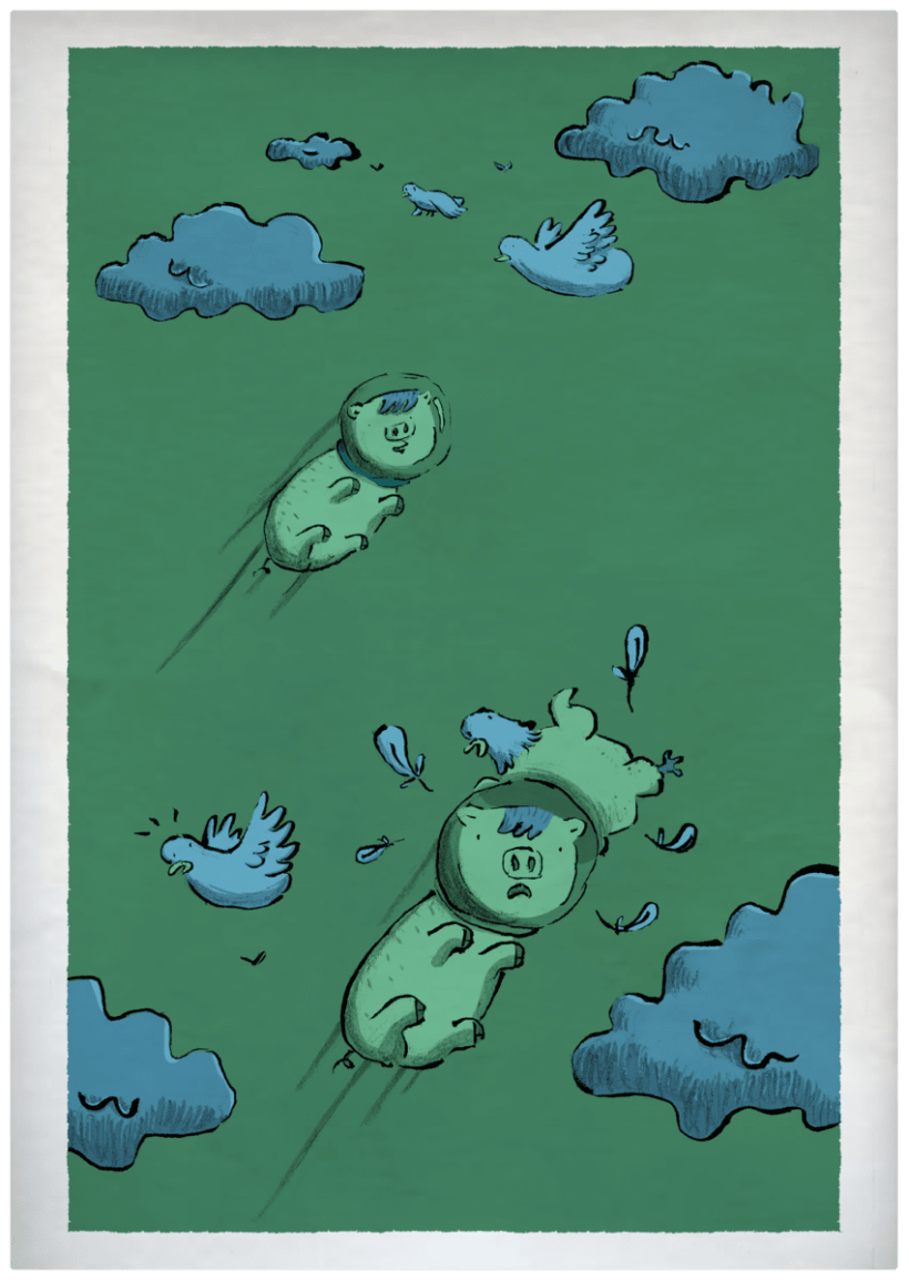 THE PIG ON THE MOON 2