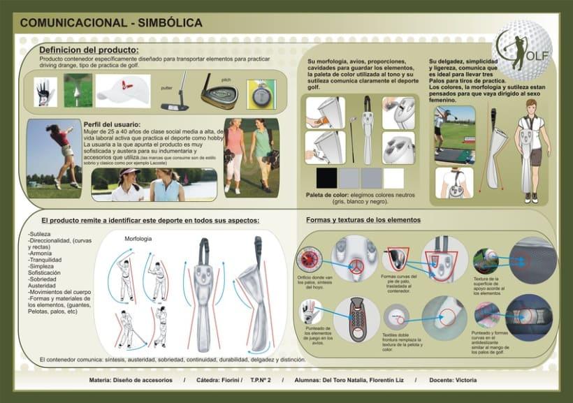 bolso para palos de golf 1