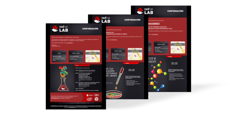 Micro + emailings Red Hat LAB 10