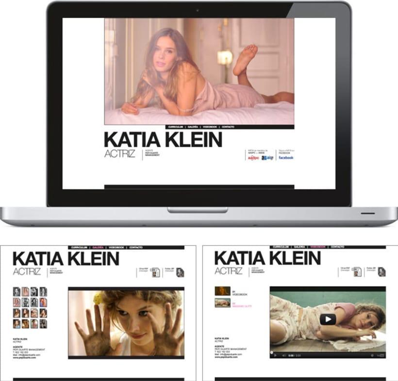 Katia Klein, Actriz 1