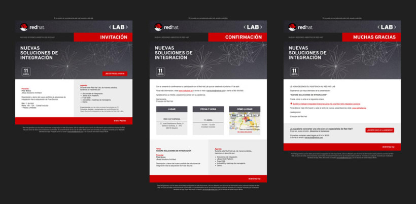 Micro + emailings Red Hat LAB 6