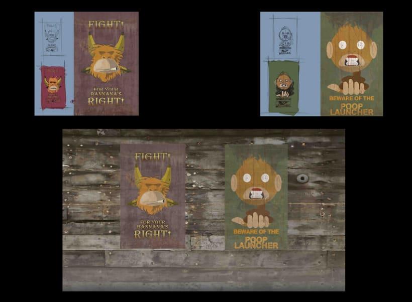 Carteles de monos 1