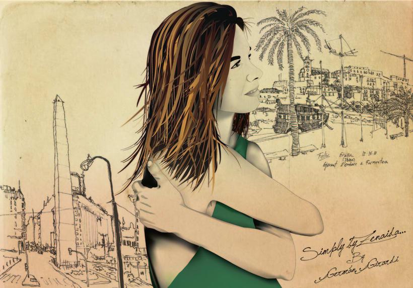 Ilustración para Simply by zenaida 1