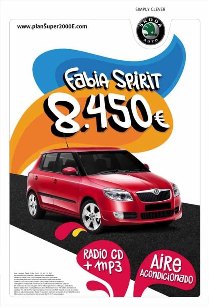Skoda Fabia Spirit 1