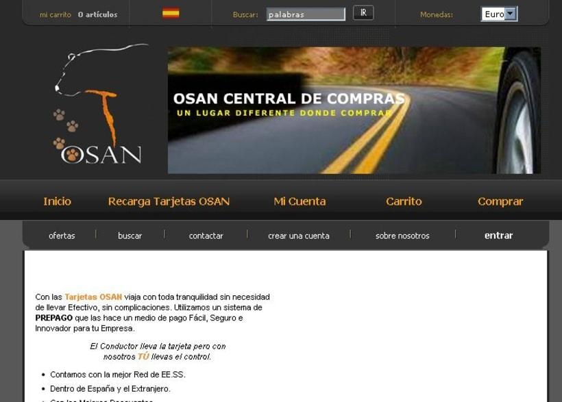 OSAN - Sistema de tarjetas recargables 2