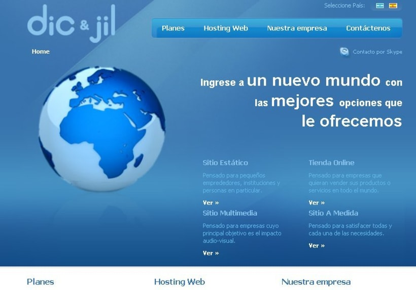 DIC & JIL - Hosting y servicios de desarrollo 2