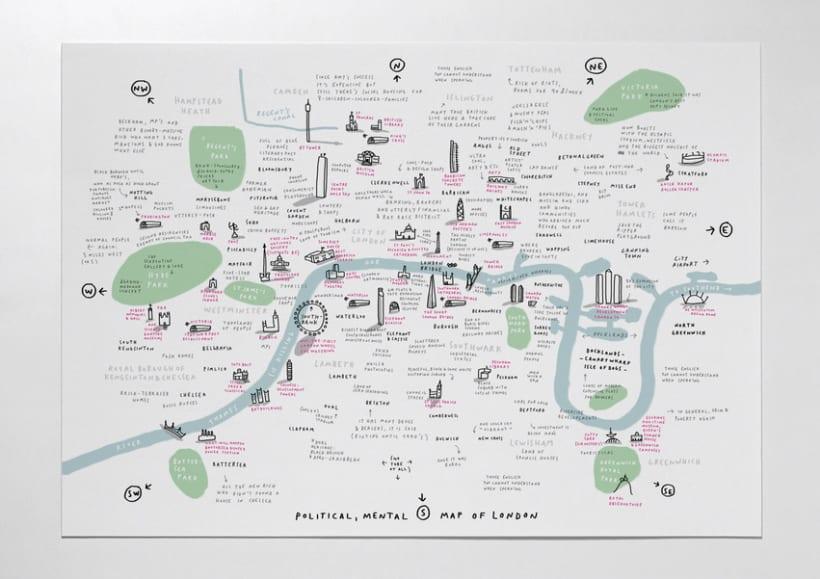 Mental Map of London 1