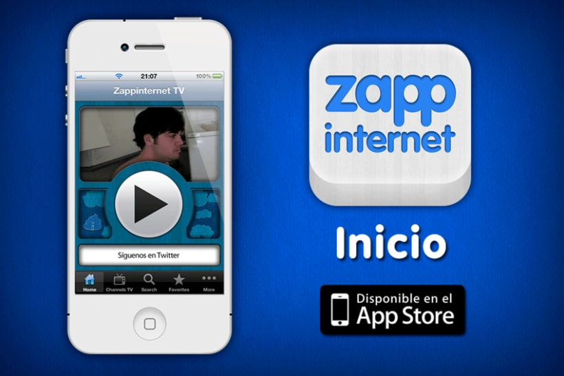 Zappinternet iOS App 1