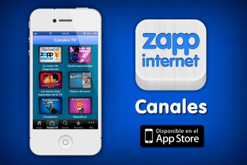 Zappinternet iOS App 2