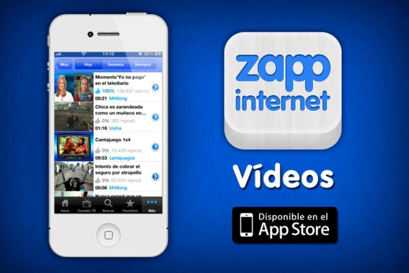 Zappinternet iOS App 4