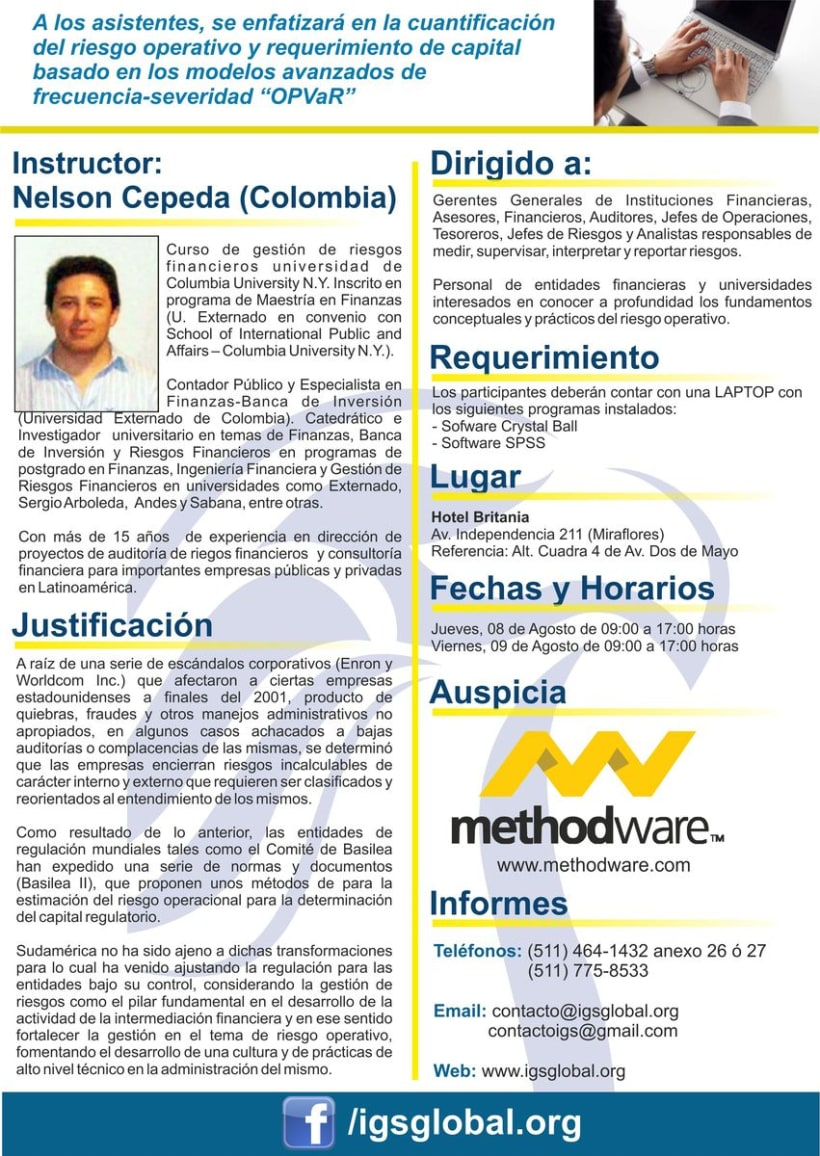 Flyer Seminario Métodos Cuantitativos 2