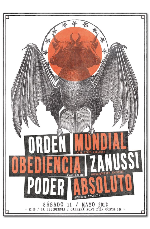 ORDEN MUNDIAL + OBEDIENCIA + ZANUSSI + PODER ABSOLUTO | poster 1