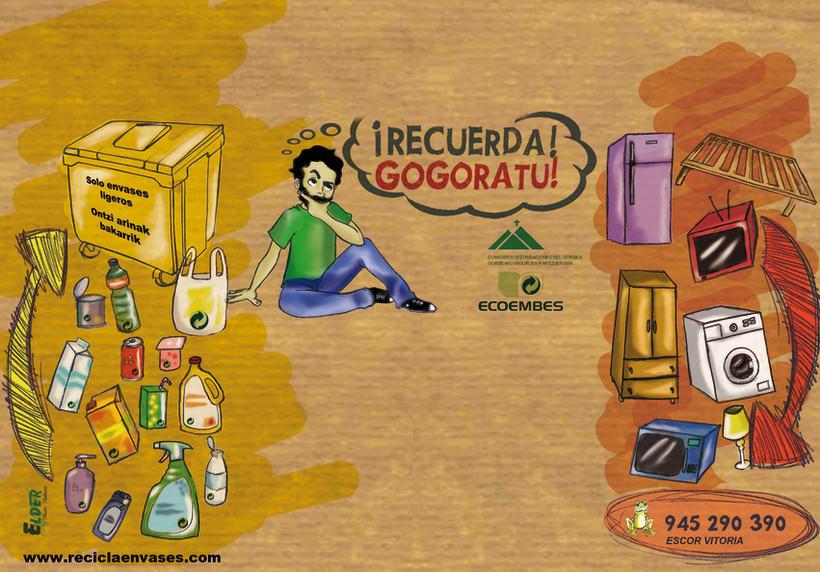 trabajo imán reciclaje 2