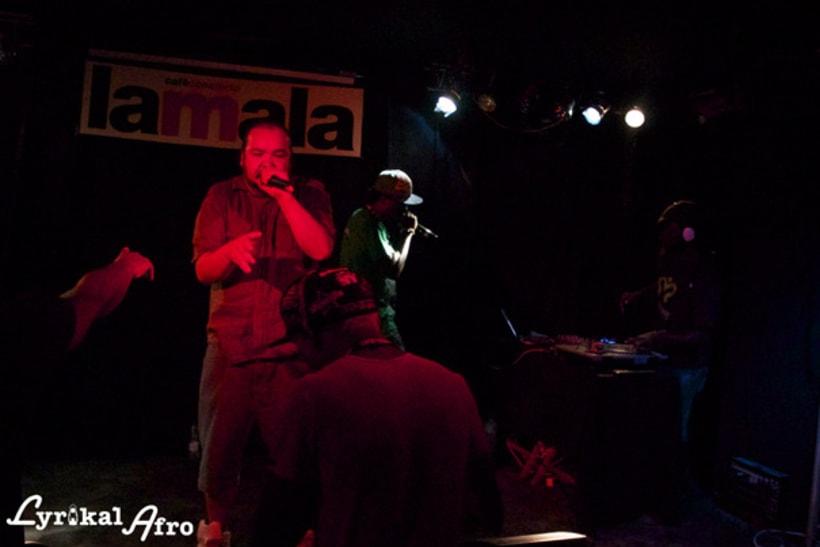 Cartel + fotos concierto 9