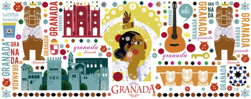 Ilustraciones para Artesanías Goya 4