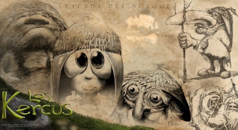 + kercus y bocetos 1