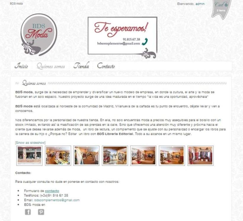 Diseño y desarrollo de Identidad Corporativa para BDS Moda 3
