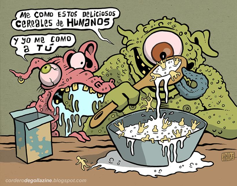 Cordero Degollazine - Humor Gráfico, Absurdo & More 43