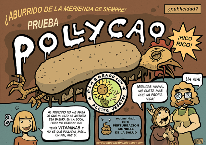 Cordero Degollazine - Humor Gráfico, Absurdo & More 8
