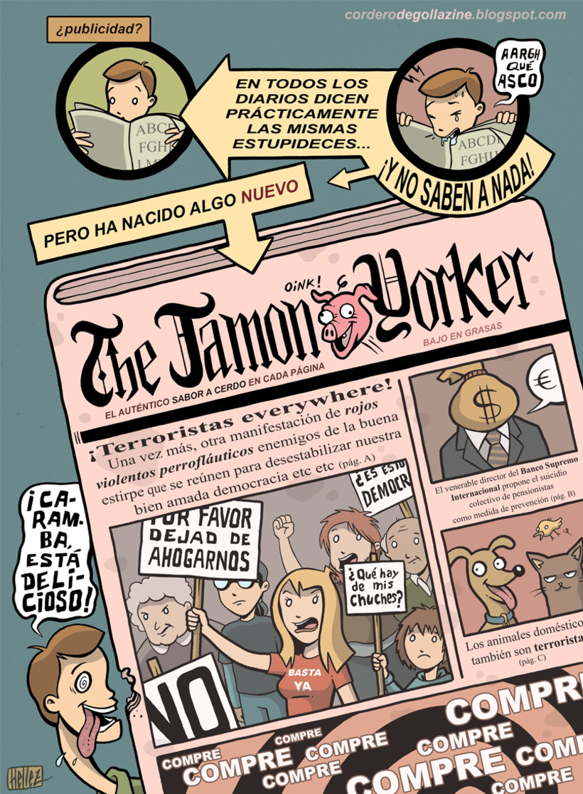 Cordero Degollazine - Humor Gráfico, Absurdo & More 3