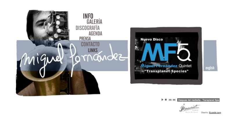 Web Miguel Fernández, saxofonista 1