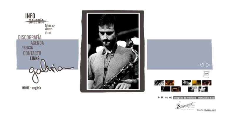 Web Miguel Fernández, saxofonista 3