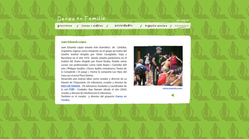 Web Danza en Familia 6