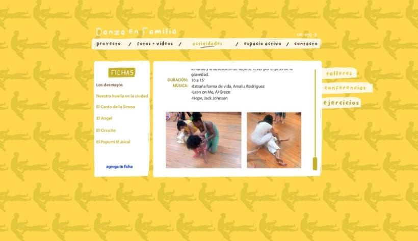 Web Danza en Familia 4