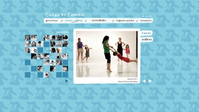 Web Danza en Familia 3