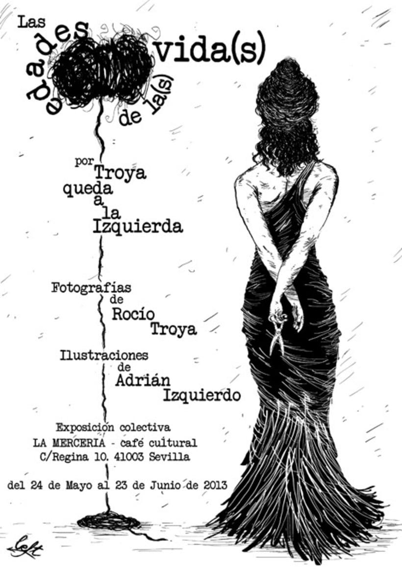 """Cartel Exposición """"Las Edades de la(s) Vida(s)"""" 1"""