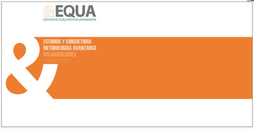 Diseño Imagen + Web EQUA 2