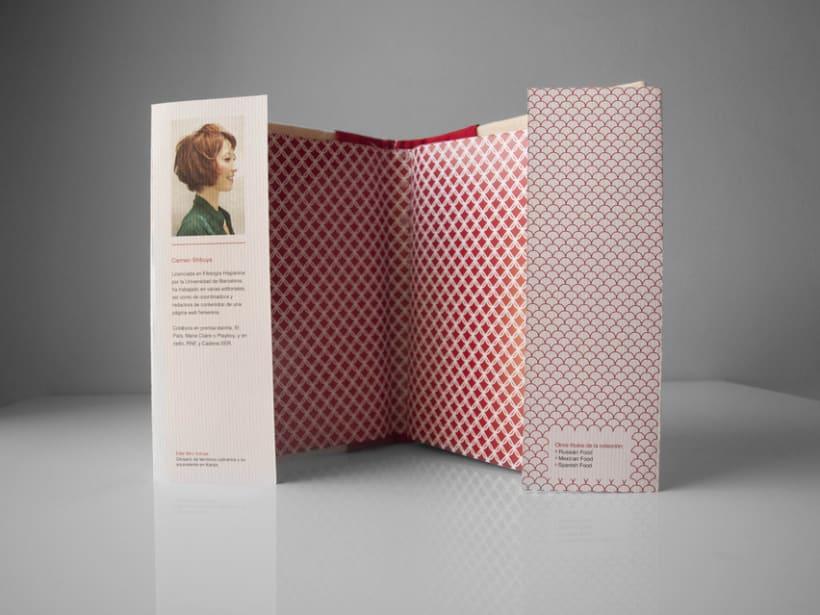 Diseño cubiertas y packaging: Libro de cocina japonesa 4