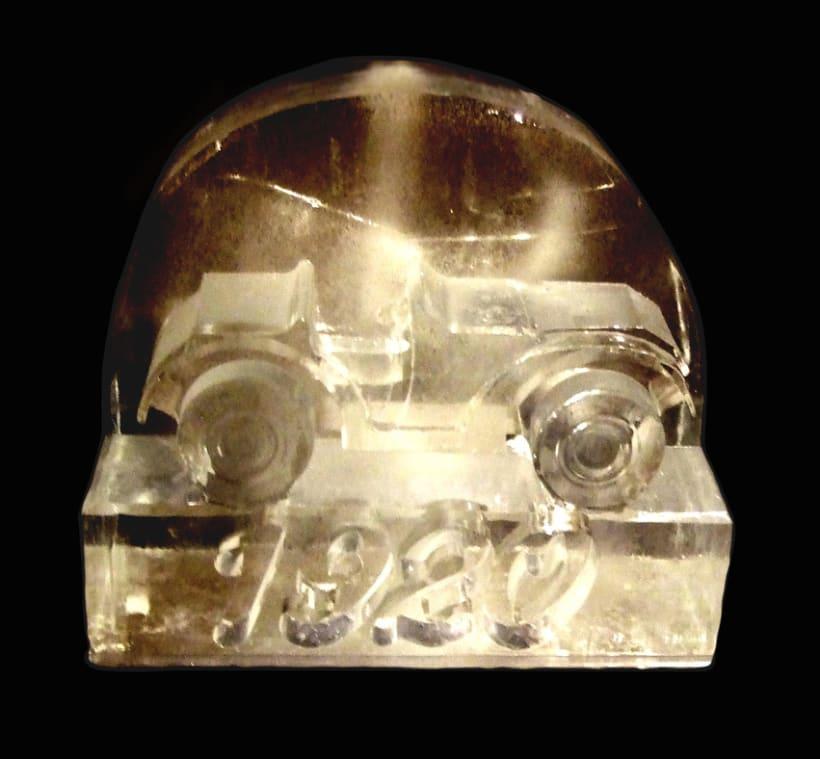 Escultura de hielo / ice sculpture 8