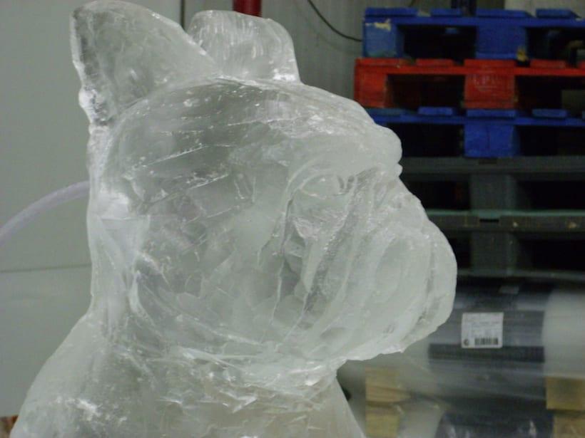 Escultura de hielo / ice sculpture 5