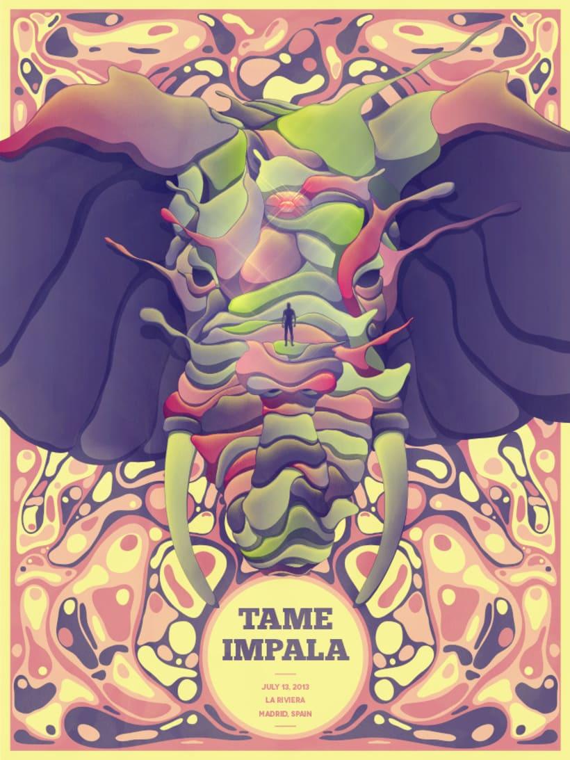 Poster Tame Impala 1