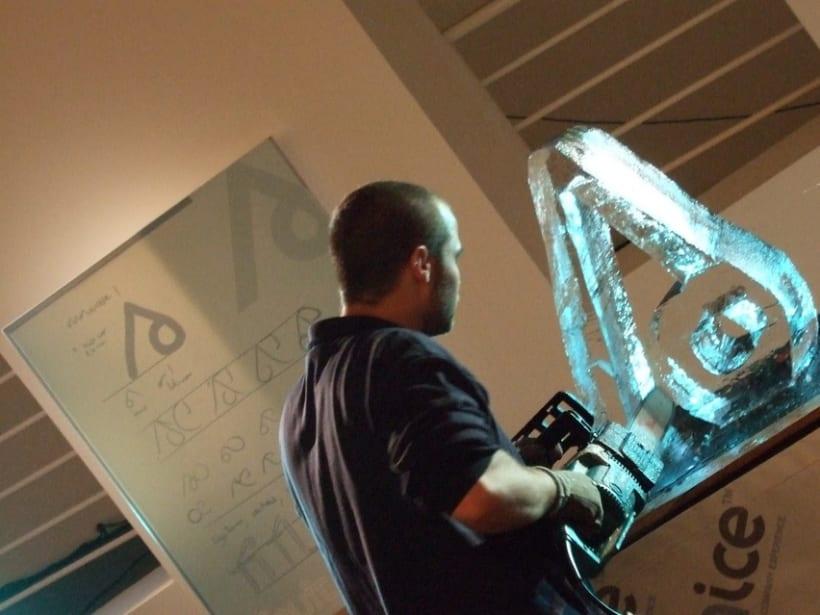 Escultura de hielo / ice sculpture 9