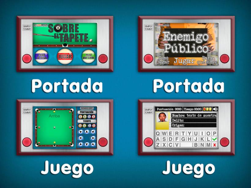 Juegos Unobrain  2