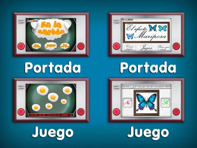 Juegos Unobrain  3