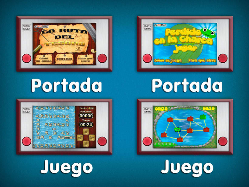 Juegos Unobrain  4
