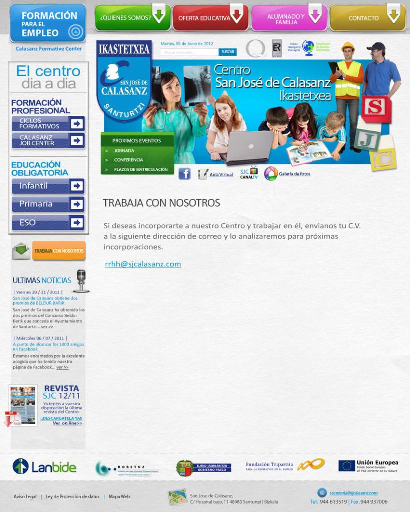 WebSan josé de Calasanz Ikastetxea 0