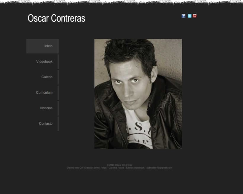 Actor Oscar Contreras 1