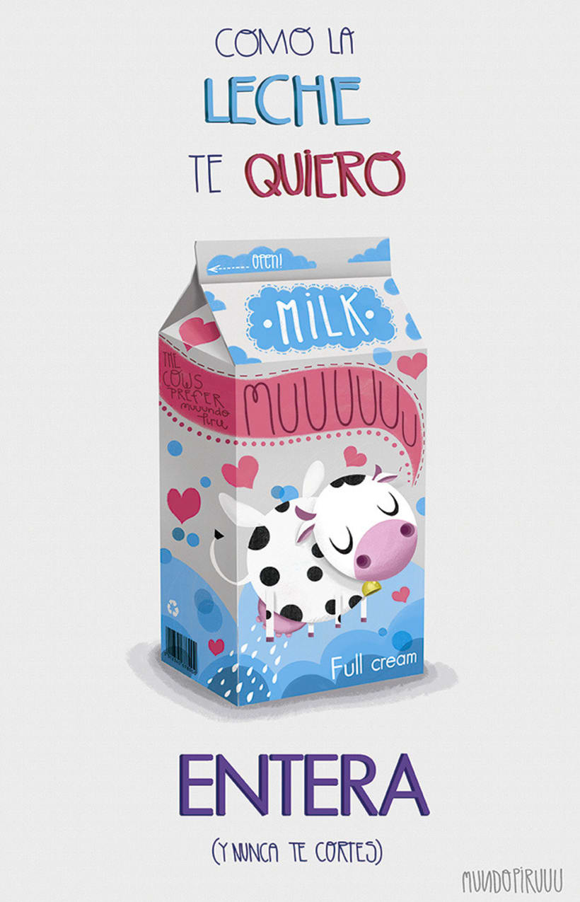 Como la leche 1
