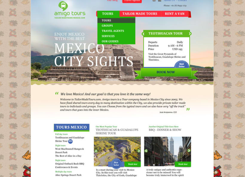 Tailor Made Tours Mexico 3