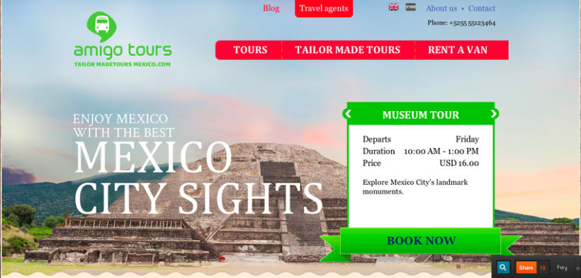 Tailor Made Tours Mexico 1