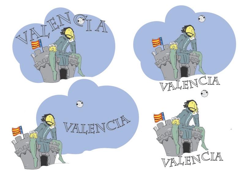 Camiseta Valencia Infantil 4
