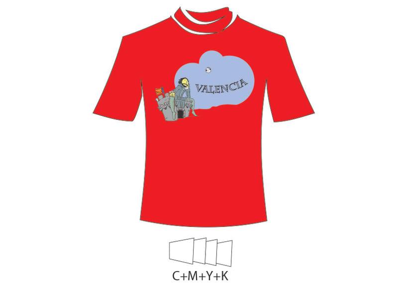 Camiseta Valencia Infantil 7